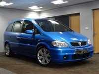 USED 2005 05 VAUXHALL ZAFIRA 2.0 GSI TURBO 5d 200 BHP ARDEN BLUE 7 SEATER