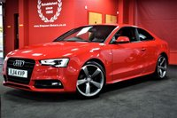 USED 2014 14 AUDI A5 2.0 TDI S LINE BLACK EDITION 2d 177 BHP