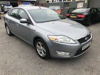 2009 FORD MONDEO 2.0 ZETEC TDCI 5d 140 BHP IN METALLIC SILVER WITH 89000 MILES £3699.00