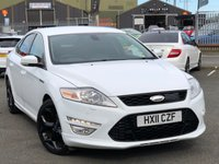 USED 2011 11 FORD MONDEO 2.0 TITANIUM X SPORT TDCI 5d 161 BHP *STUNNING FROZEN WHITE MONDEO*