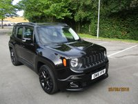 USED 2016 16 JEEP RENEGADE 1.6 M-JET DAWN OF JUSTICE 5d 118 BHP ABSOLUTELY STUNNING JEEP RENEGADE DAWN OF JUSTICE !!