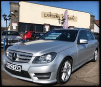 2013 MERCEDES-BENZ C-CLASS 2.1 C220 CDI BLUEEFFICIENCY AMG SPORT 5d AUTO 168 BHP £9995.00