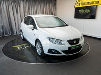 USED 2011 60 SEAT IBIZA 1.4 CHILL 5d 85 BHP £0 DEPOSIT FINANCE AVAILABLE, AIR CONDITIONING, AUX INPUT, CD/MP3/RADIO, CLIMATE CONTROL, CRUISE CONTROL, STEERING WHEEL CONTROLS, TRIP COMPUTER