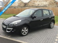 USED 2010 10 RENAULT SCENIC 1.6 DYNAMIQUE TOMTOM VVT 5d 109 BHP
