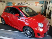 USED 2013 63 ABARTH 500 1.4 ABARTH 3d 135 BHP