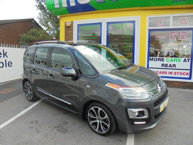 USED 2014 14 CITROEN C3 PICASSO 1.6 PICASSO EXCLUSIVE HDI 5d 91 BHP FULL LEATHER SEATS