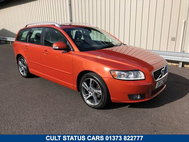 2012 12 VOLVO V50 1.6 DIESEL DRIVE SE EDITION ESTATE WITH LEATHER & SUNROOF
