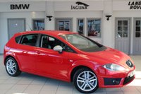 USED 2011 60 SEAT LEON 2.0 FR CR TDI 5d 168 BHP FULL BLACK LEATHER SEATS + SATELLITE NAVIGATION + XENON HEADLIGHTS + 18 INCH ALLOYS + HEATED FRONT SEATS + TOUCH SCREEN + CRUISE CONTROL