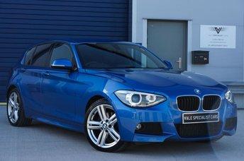2013 BMW 1 SERIES 2.0 125D M SPORT 5d 215 BHP £SOLD