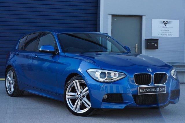 2013 63 BMW 1 SERIES 2.0 125D M SPORT 5d 215 BHP