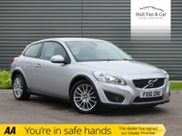 USED 2010 10 VOLVO C30 1.6 D DRIVE SE LUX 3d 109 BHP BIG MPG,£0 TAX,LEATHER,CLIMATE