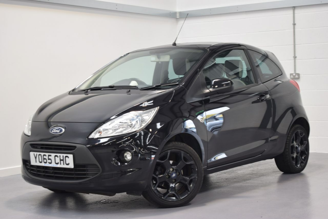 Used   Ford Ka   Zetec Black Edition D  Bhp