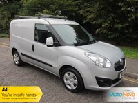 USED 2014 14 VAUXHALL COMBO VAN 1.2 2000 L1H1 CDTI S/S SPORTIVE 1d 90 BHP, AIR CON, VAUXHALL HISTORY Great Value Vauxhall Combo Sportive Van with Air Conditioning, Side Loading Door, Ply Lining and Vauxhall Service History