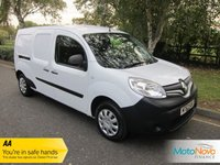 USED 2014 63 RENAULT KANGOO MAXI 1.5 LL21 CORE DCI W/V 1d 90 BHP, 5 SEATS, RENAULT HISTORY Fantastic Value Five Seat Renault Kangoo Crew Van with Factory Fitted Bulkhead, Ply Lining and Renault Service History