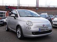 2010 FIAT 500 1.2 S 3d 69 BHP £3911.00