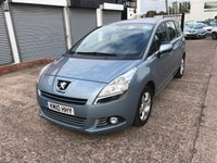 USED 2010 10 PEUGEOT 5008 1.6 HDI SPORT 5d 110 BHP 7 SEATS-DIESEL-SERVICE HISTORY-CD PLAYER-AIR CON-ALLOYS