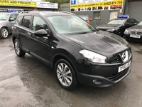 USED 2011 60 NISSAN QASHQAI+2 1.6 TEKNA PLUS 2 5 DOOR 117 BHP IN BLACK WITH 7 SEATS IN GREAT CONDITION. APPROVED CARS ARE PLEASED TO OFFER THIS NISSAN QASHQAI+2 1.6 TEKNA PLUS 2 5 DOOR 117 BHP IN BLACK WITH 7 SEATS IN GREAT CONDITION INSIDE AND OUT WITH A GREAT SPEC INCLUDING LEATHER HEATED SEATS,SAT NAV,REVERSE CAMERA,PANORAMIC ROOF,7 SEATS AND MUCH MORE WITH A FULL SERVICE HISTORY WITH ONLY 2 OWNERS FROM NEW.