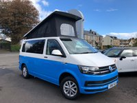 USED 2016 16 VOLKSWAGEN T6 CAMPERVAN BRAND NEW 4 BERTH CAMPER CONVERSION    TOP SPEC STUNNING