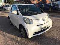 USED 2009 59 TOYOTA IQ 1.0 VVT-I IQ2 3d 68 BHP ONLY DONE 300 MILES FROM NEW!!-ZERO £££ ROAD TAX-LEATHER-ALLOYS-1 OWNER