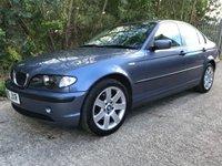 2005 BMW 3 SERIES 2.0 320D SE 4d 148 BHP £2490.00
