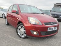 USED 2006 06 FORD FIESTA 1.4 GHIA 16V 5d 80 BHP 2 KEYS, LONG MOT, AIR-CON, LEATHER, MOT HISTORY.
