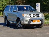 2007 TOYOTA HI-LUX 3.0 INVINCIBLE D-4D 4X4 D/C 1d AUTO 169 BHP £12500.00