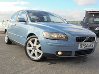 USED 2004 54 VOLVO S40 2.0 SE D 4d 135 BHP FULL SERVICE HISTORY 10 STAMPS, 12 MONTHS MOT, 2 KEYS, 4 OWNERS, HEATED LEATHER SEATS