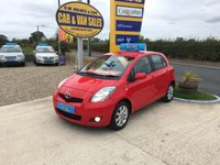 2011 TOYOTA YARIS T SPIRIT 1.3 VVT-I 5 DOOR **AUTOMATIC**ONLY 25000 MILES** £SOLD