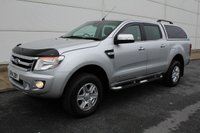2014 FORD RANGER 2.2 LIMITED 4X4 DCB TDCI 1d AUTO 148 BHP £SOLD