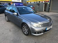 2011 MERCEDES-BENZ C CLASS 2.1 C200 CDI BLUEEFFICIENCY SE EDITION 125 5 DOOR 136 BHP IN SILVER WITH 84000 MILES. £7799.00
