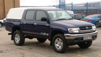 2005 TOYOTA HI-LUX 2.5 280 EX DOUBLE CAB 4WD 1d 1 FORMER KEEPER F/S/H 2 KEYS 12 MONTHS WARRANTY COVER  £4990.00