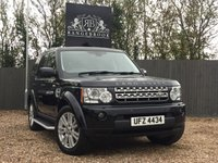 2011 LAND ROVER DISCOVERY 4 3.0  SDV6 XS 5dr AUTO