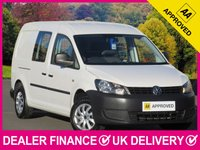 USED 2015 64 VOLKSWAGEN CADDY MAXI 1.6 TDI C20 5 SEAT COMBI VAN AIR CON 5 SEATS AIR CONDITIONING TWIN SIDE DOORS