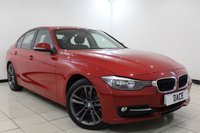 USED 2013 63 BMW 3 SERIES 1.6 316I SPORT 4DR 135 BHP BMW SERVICE HISTORY + BLUETOOTH + PARKING SENSOR + CRUISE CONTROL + MULTI FUNCTION WHEEL + CLIMATE CONTROL + 16 INCH ALLOY WHEELS