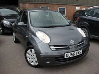 USED 2006 56 NISSAN MICRA 1.4 SE 5d AUTO 88 BHP ANY PART EXCHANGE WELCOME, COUNTRY WIDE DELIVERY ARRANGED, HUGE SPEC