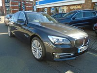 USED 2014 64 BMW 7 SERIES 3.0 730D SE EXCLUSIVE 4d AUTO 255 BHP