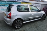 USED 2005 55 RENAULT CLIO 2.0 RENAULTSPORT 182 16V 3d 182 BHP FULL SERVICE HISTORY