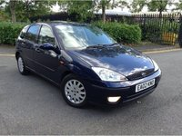 USED 2002 02 FORD FOCUS 1.8 GHIA TDCI 5d 116 BHP