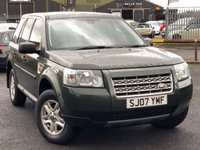 USED 2007 07 LAND ROVER FREELANDER 2.2 TD4 S 5d 159 BHP *GREAT VALUE, TOW BAR*