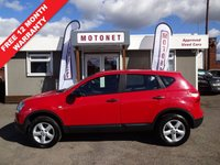USED 2009 59 NISSAN QASHQAI 1.6 VISIA 5DR HATCHBACK 115 BHP ++++OCTOBER SALE NOW ON+++