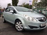 USED 2009 VAUXHALL CORSA 1.4 CLUB 16V TWINPORT 5d 90BHP AUTOMATIC 1FORM KEEPER+RARE SMALL AUTO+