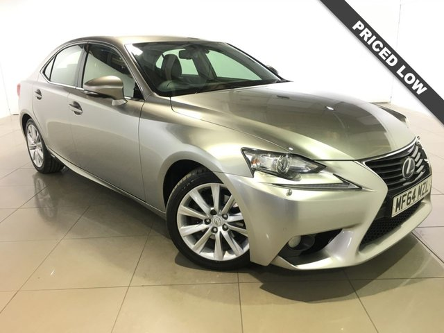 View our 2014 64 LEXUS IS 2.5 300H EXECUTIVE EDITION 4d 179 BHP
