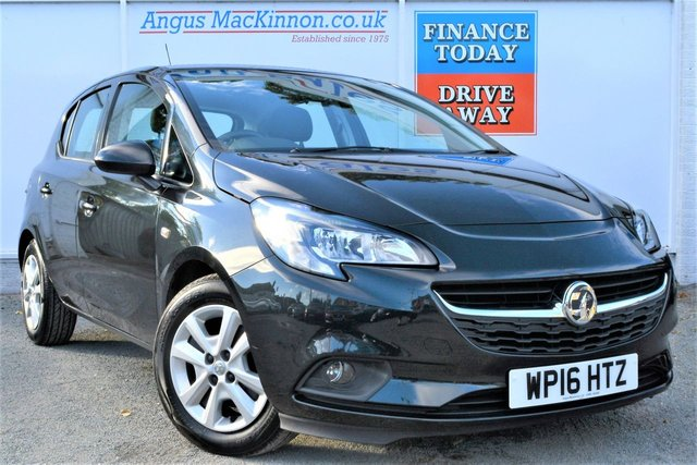 2016 16 VAUXHALL CORSA 1.3 DESIGN CDTI ECOFLEX Great Value 5dr Hatchback with Zero Road Tax and High 76mpg