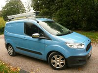 USED 2014 64 FORD TRANSIT COURIER 1.5 TREND TDCI 4 DR 74 BHP PANEL VAN NO VAT