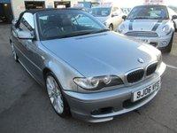 2006 BMW 3 SERIES 2.5 325CI M SPORT 2d AUTOMATIC 190 BHP £3995.00