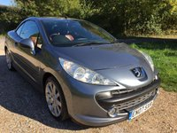 USED 2007 07 PEUGEOT 207 1.6 GT COUPE CABRIOLET 2d 148 BHP