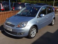 2008 FORD FIESTA ZETEC TDCI 1.4 Climate 5dr, Service History £3500.00