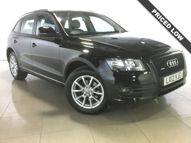 View our 2012 12 AUDI Q5 2.0 TDI QUATTRO SE 5d 141 BHP