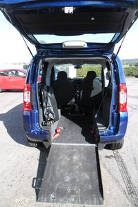 2012 FIAT QUBO 1.4 MYLIFE 5d 73 BHP SPECIALLY ADAPTED WHEELCHAIR ACCESS VEHICLE(WAV) £6500.00