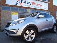 USED 2012 62 KIA SPORTAGE 1.7 CRDI 2 5dr 114 BHP FULL SERVICE HISTORY SOLD PREVIOUSLY BY US GREAT SPEC